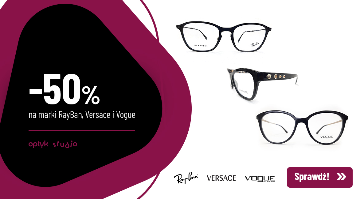 Promocja Ray Ban, Vogue, Versace